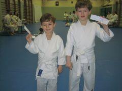 Exámenes para paso de Cinturón de Judo (Kius)
